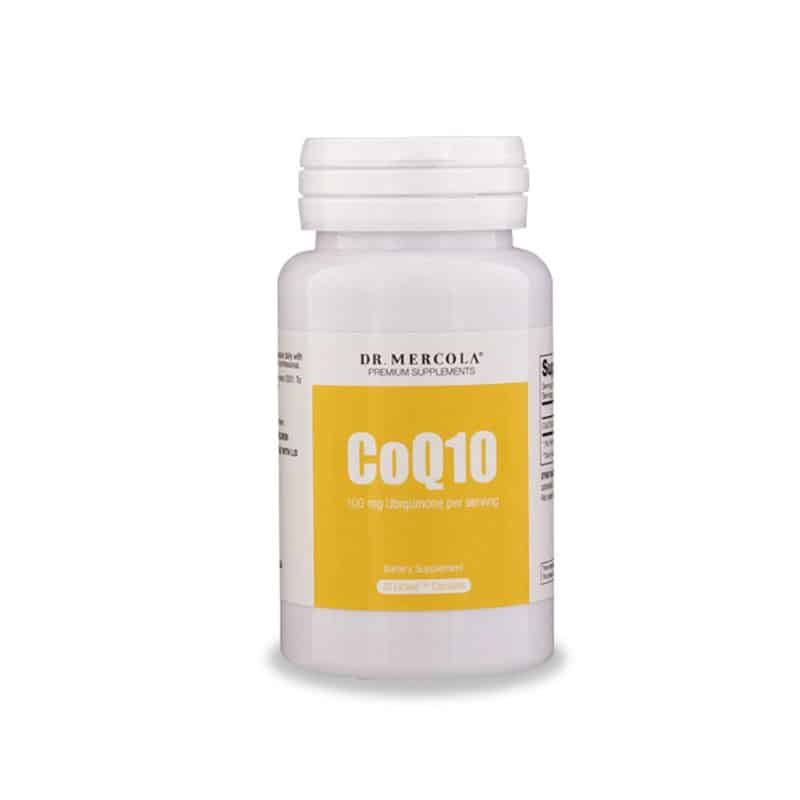 Dr. Mercola CoQ10 Softgels (30 capsules)