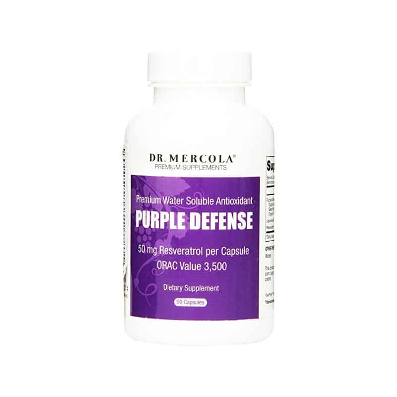 Dr. Mercola Purple Defense Resveratrol (90 capsules)