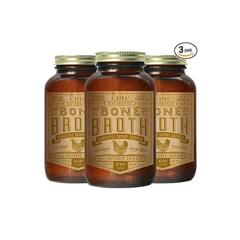 Epic Chicken Bone Broth (14 oz each, 3 pack)