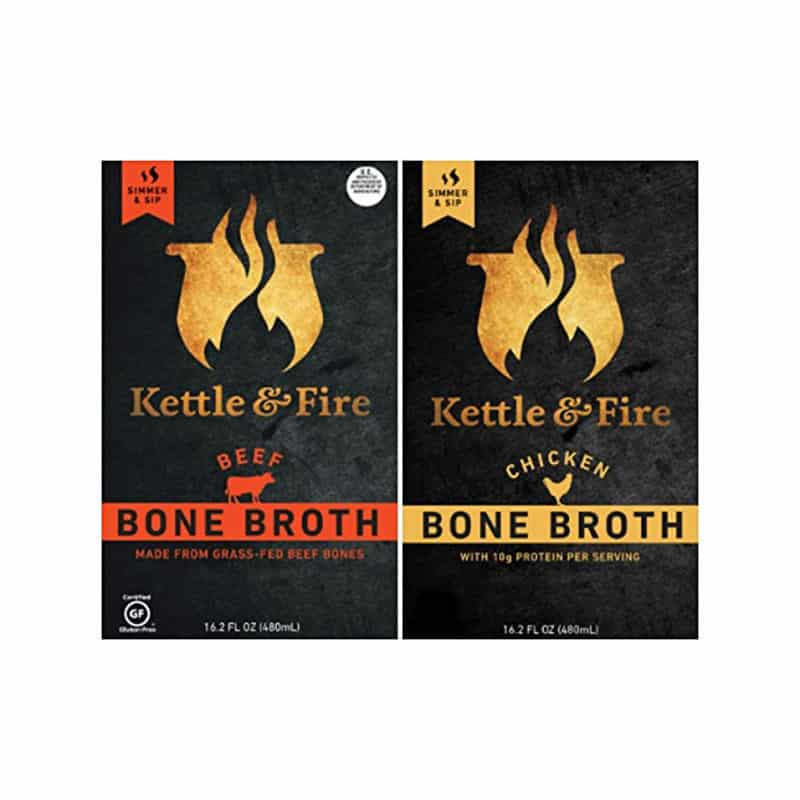 Kettle & Fire Organic Chicken & Beef Bone Broth