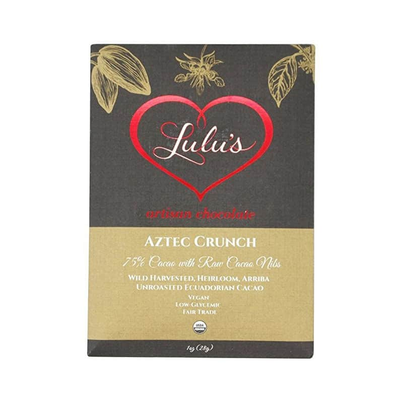 Lulu's Aztec Crunch Chocolate