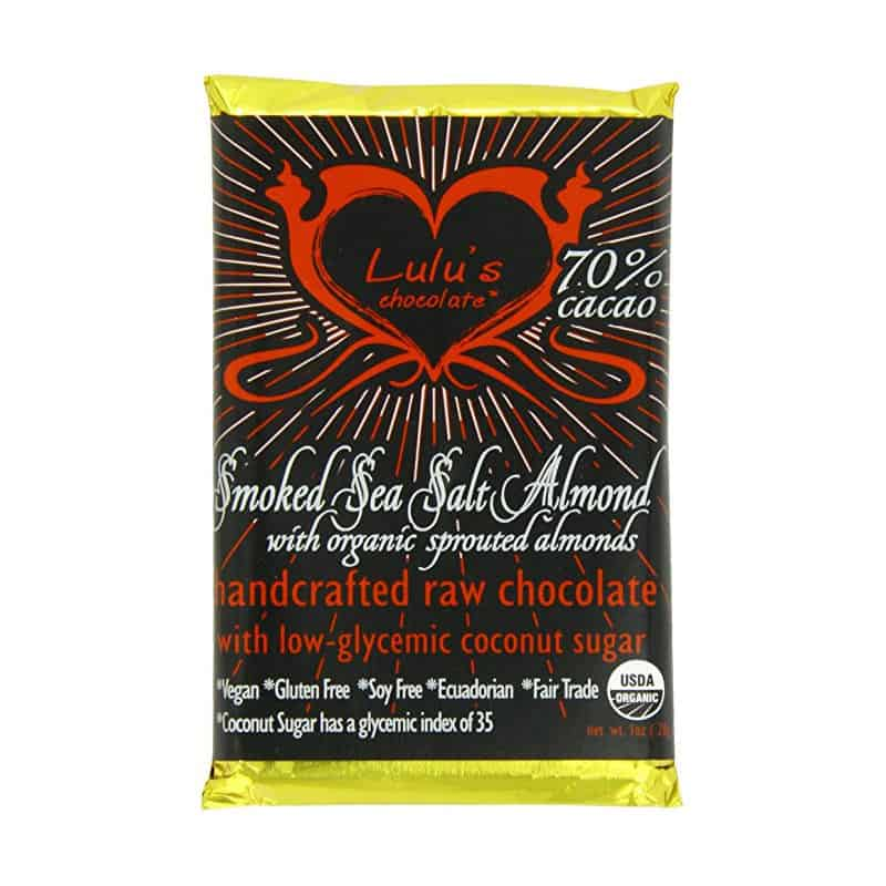 Lulu's Sea Salt Almond Chocolate (1 oz)