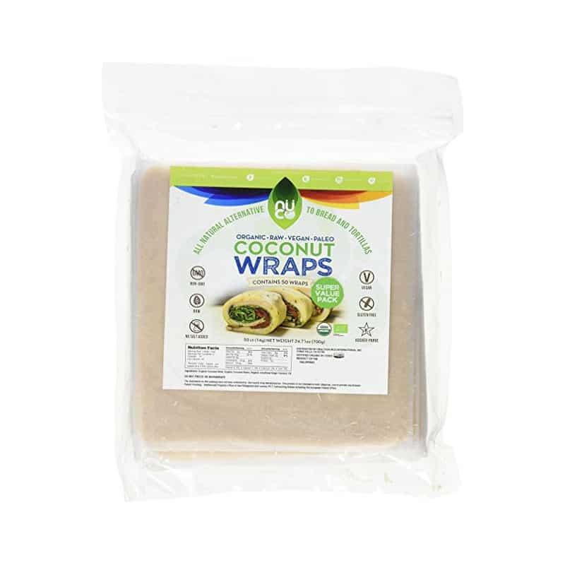 NUCO Coconut Wraps (50 wraps)