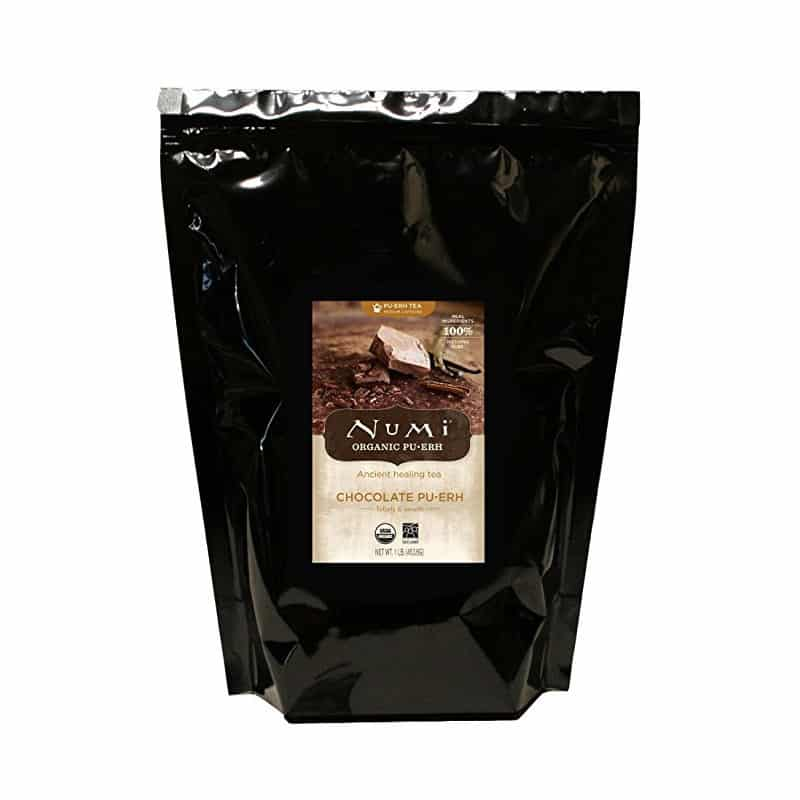 Numi Chocolate Pu-erh Tea, Loose Leaf (16 oz)