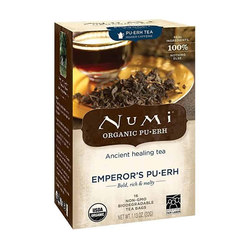 Numi Pu-erh Tea (16 tea bags)