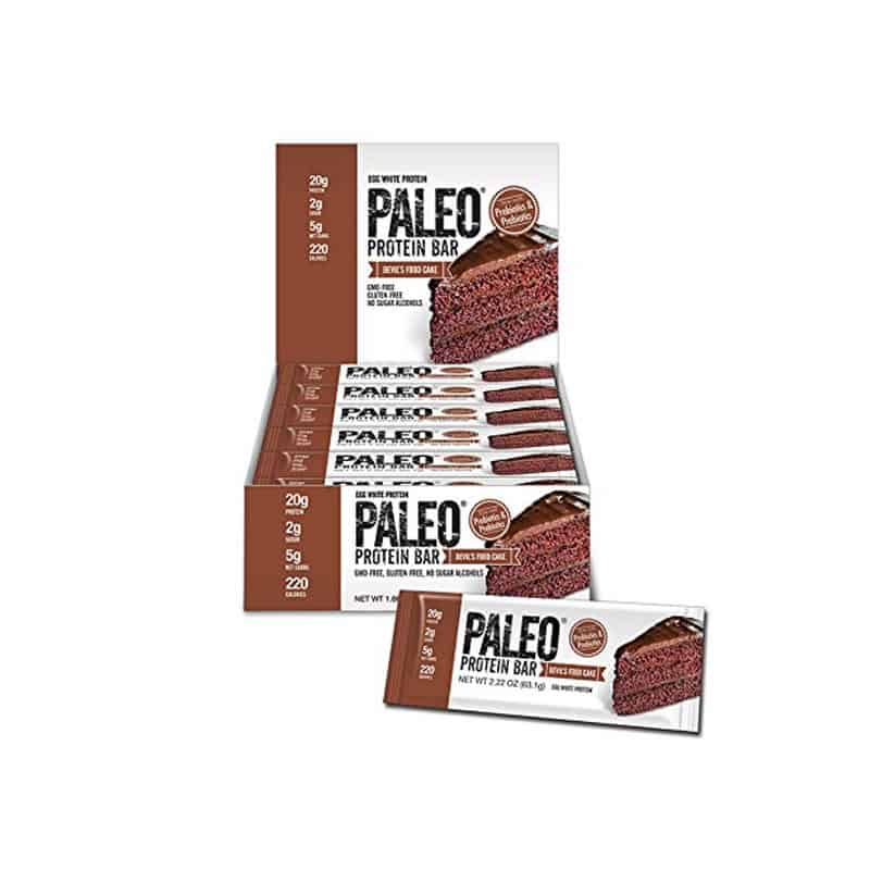 Paleo Protein Bar, Devil's Food Cake (24 bars)
