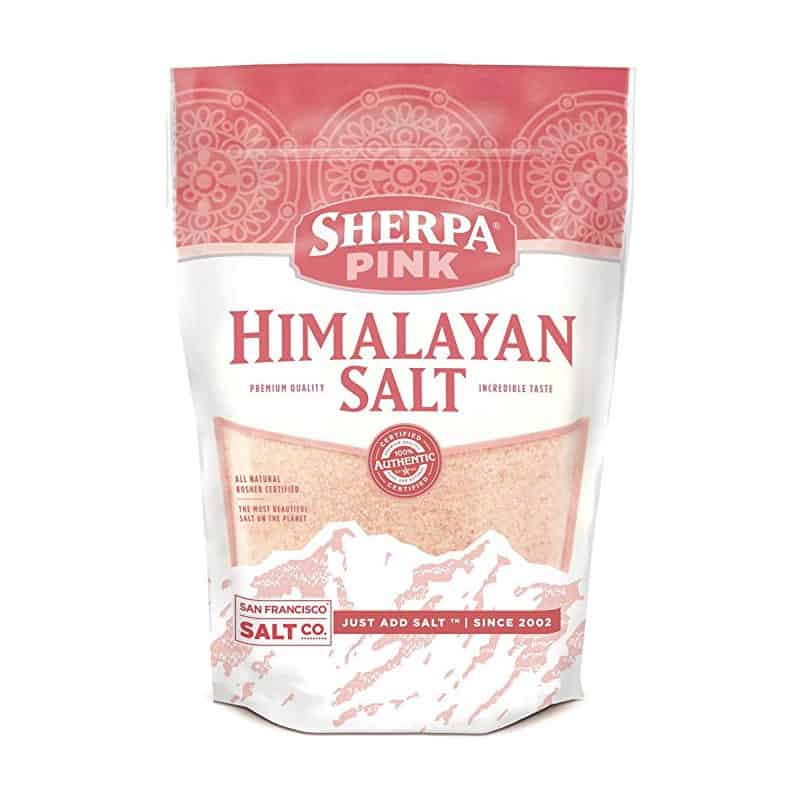 Sherpa Pink Gourmet Himalayan Sea Salt (5 pounds) $14.24