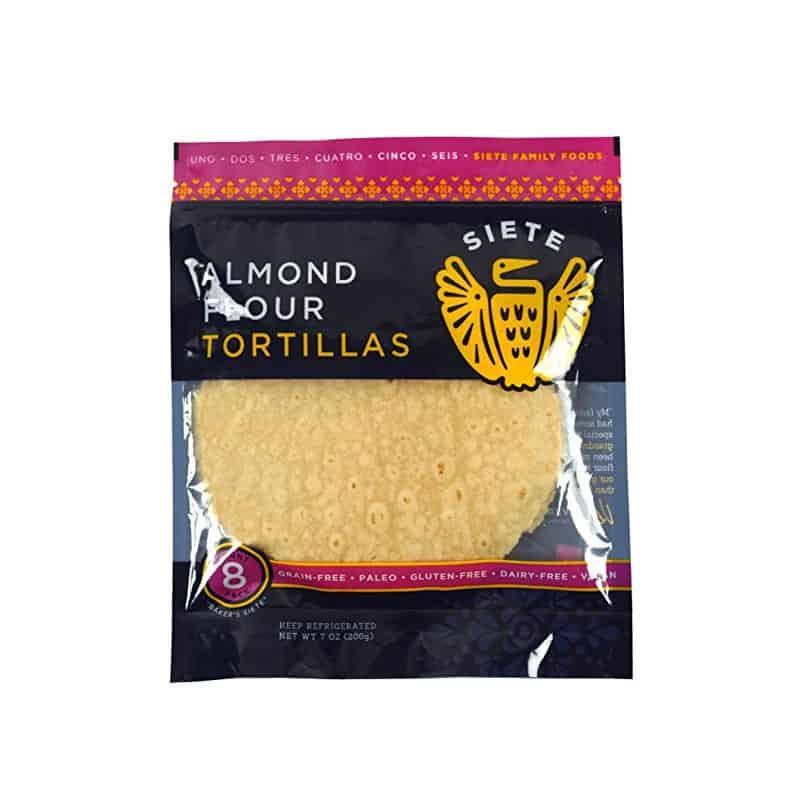Siete Grain-Free Almond Wraps (8 wraps)