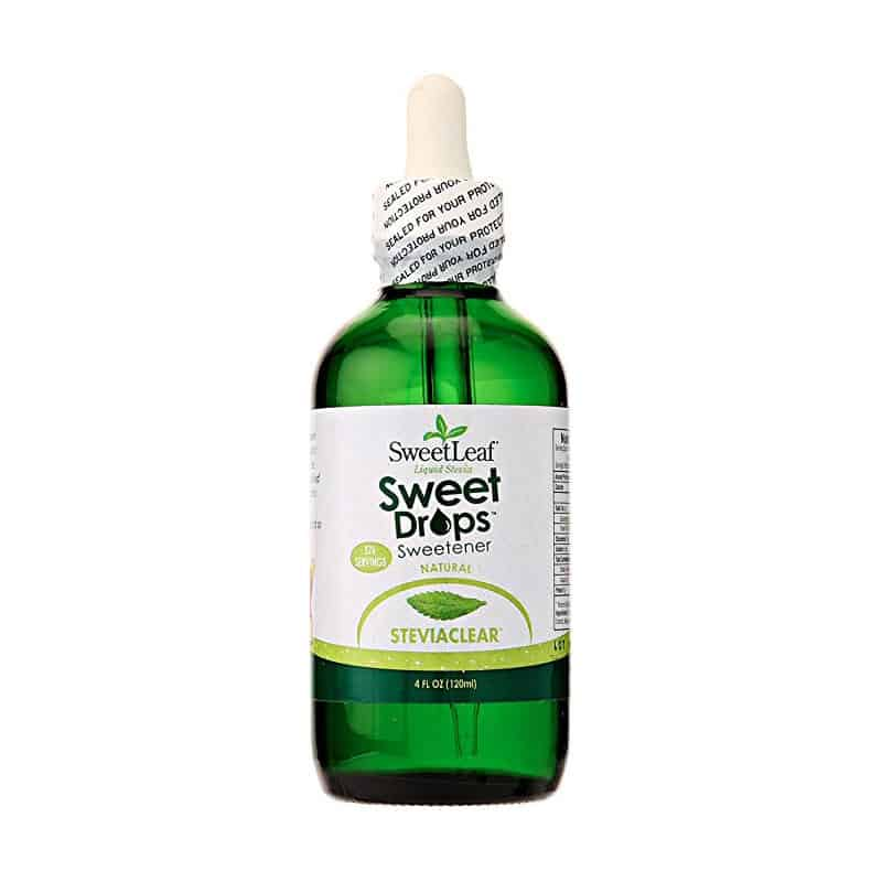 SweetLeaf Sweet Drops Liquid Stevia Sweetener (4 oz)