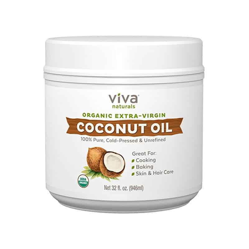 Viva Naturals Organic Extra Virgin Coconut Oil (32 oz)